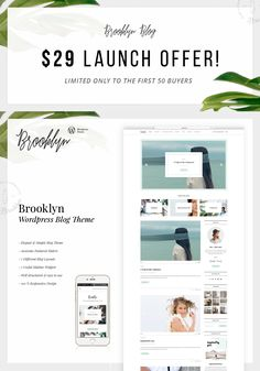 "Empfohlenes @Behance-Projekt: ""Brooklyn Wordpress Theme for Blogger and Freelancer"" https://www.behance.net/gallery/52979551/Brooklyn-Wordpress-Theme-for-Blogger-and-Freelancer"