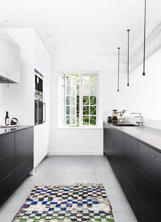 Sort Hvidt køkken