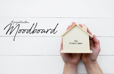 """""""While working hard on the construction site, I stick to the living concept. I create a mood bo Mood Boards, Place Card Holders, Children, Design, Wooden Crates, Projects, Goal, Ad Home, Young Children"""