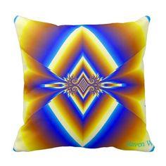 Diamond Abstract throw pillow