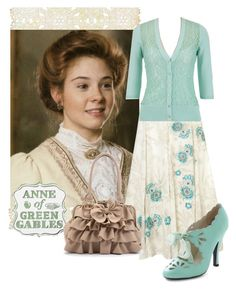 """""""Anne with an """"e."""""""" by december-baby ❤ liked on Polyvore featuring Curio and Monsoon"""