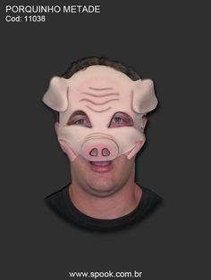 Porquinho - Meia Máscara