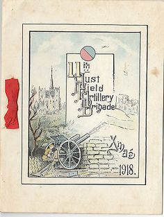 Ww1 anzac #australian 11th field #artillery brigade christmas #greetings card, ra,  View more on the LINK: http://www.zeppy.io/product/gb/2/291819999248/