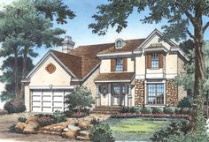 Favorite interior layout - House Plan chp-16393 at COOLhouseplans.com