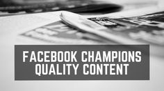 Yet another algorithm update by #Facebook looks to improve the quality of articles and news #content turning up on user's news feeds... #socialmedia