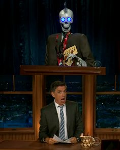 Craig Ferguson ( and Geoff). Legend.