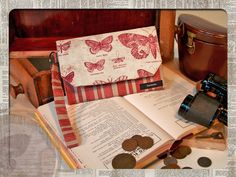 Sleek Fabric Wallet with Zippered Coin Pouch   Sew4Home