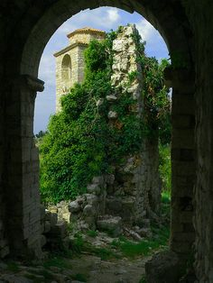 The Secret Garden in Stari Bar, Montenegro -- by Marek K. Misztal