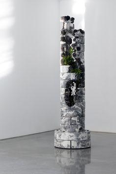 Drifting to Void by Jamie North solo exhibition at Sarah Cottier Gallery, Sydney Concrete Crafts, Concrete Art, Concrete Garden, Concrete Design, Australian Plants, Australian Artists, Inspiration Artistique, Decorated Flower Pots, Concrete Sculpture