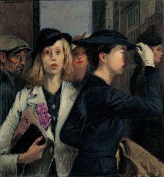 Raphael Soyer, Office Girls, 1936