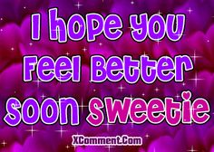 Hope you feel better soon quotes   Hope You Feel Better Graphics - LayoutLocator - Search over 50,000 ...