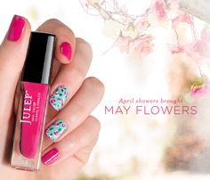 DIY Mani Tutorial: Life is a (Nail) Bed of Roses I am addicted to Julep nail polish! If you aren't a Julep Maven ask me about how to sign up and get your first box free! :) -Juley