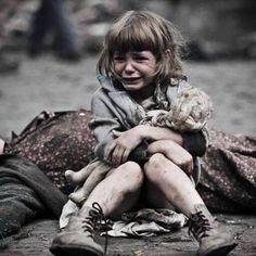 World War by Markus Garex Sad Child, Poor Children, Save The Children, Precious Children, Beautiful Children, Kids Around The World, People Of The World, War Photography, Children Photography