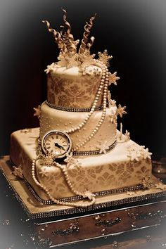 Steampunk Wedding Cake Party Rock Pinterest And