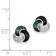 cd31e86676 Metal Material  .925 Sterling Silver - Average Weight  2.15gm - Rhodium