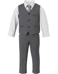 suit set for page boys - can always use your own choice of shirts and ties for the big day