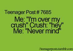 haha oh life