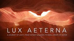 LUX AETERNA by Cristóbal Vila. Fullscreen and volume up, please! ;-)