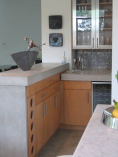 Contemporary Wet Bar. Designed and Photographed by Maggie Grants    http://www.houzz.com/pro/cabinetsanddesigns#