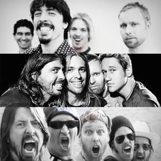 The Evolution of the Foo Fighters