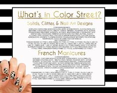 What is in ColorStreet Nails?