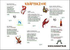 Kraftvisor_2- Hemsida full med kul snapsvisor Party Themes, Themed Parties, Holiday Fun, Tapas, Inspiration, Ord, Goodies, Autumn, Drinks