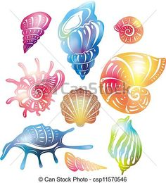 seashell eps clipart vector and stock illustrations available to search from thousands of royalty free illustration providers