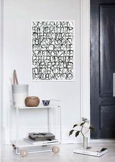 Quadro muito para dizer - Design: Thales Pimenta - Studio Ar.Co - #frame #quadro #decoração #decor #inspiration #inspiracao #design