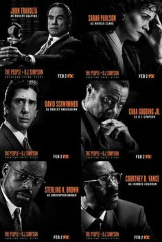 . People Vs Oj Simpson, The People Vs Oj, Sterling K Brown, David Schwimmer, American Crime Story, Robert Kardashian, Hey Jude, Title Sequence, Light Camera