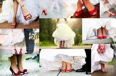 Mi infinita wishlist: La Novia y sus zapatos de color