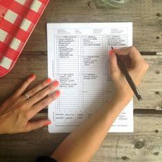 We are loving the simplicity of this grocery list download! The best part is it's FREE! Plan out your meals and bring a grocery list so you don't walk into the store blindly. It will save you time and money. :)