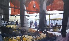 Venice Fish Market by Tim Wilmot