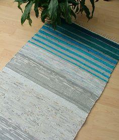 Rag Rugs, Woven Rug, Floor Rugs, Textile Art, Weaving, Carpet, Diy Crafts, Flooring, Handmade Gifts