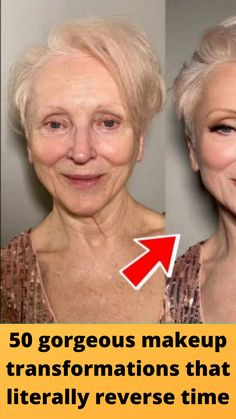 50 #gorgeous makeup #transformations that literally #reverse time