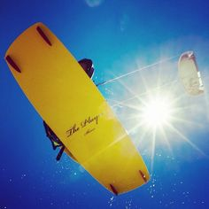 Kitesurfing in Boracay, Philippines