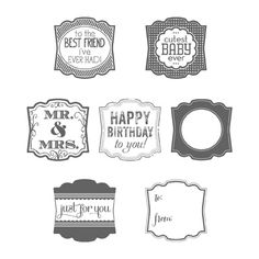 Label Love - Stampin' Up!