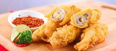 [Resep] Ayam Gulung Crispy Keju http://www.perutgendut.com/read/ayam-gulung-crispy-keju/3055 #Food #Kuliner #Resep