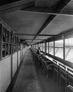 Brooklyn Dodgers Ebbets Field press box