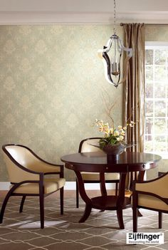 Brooklyn Wallpaper Damask Wallpaper Old Things Brooklyn Elegant Designs Room Decor