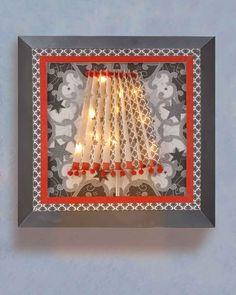 ©efco-freizeit-engel.de - Lampenschirm auf Keilrahmen