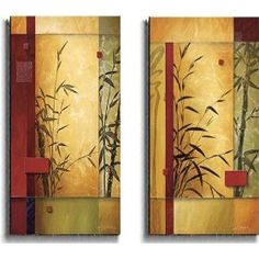 Garden Dance by Don Li-Leger 2pc Stretched Canvas Set $179.99