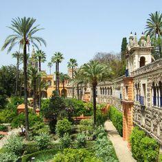 Le Real Alcázar de Séville :