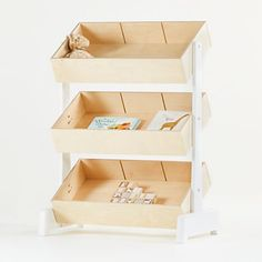 Oeuf Toy Store Storage Bin | Crate and Barrel