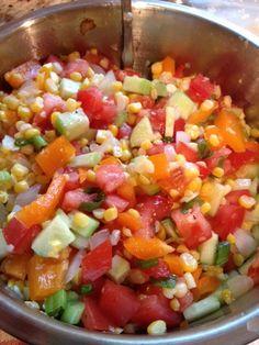 Recipe: Fresh Chop Corn Salad