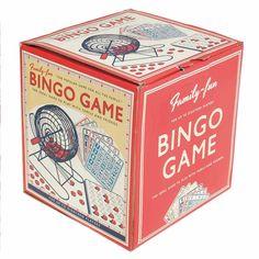 Un Bingo pour jouer en famille ou entres amis ( jusqu'à 18 personnes) incluant1 mélangeur de 20 cm avec billes, 75 numéros, 18 cartes, 1 plaque avec numéro bingo. 33,00 € http://www.lafolleadresse.com/jouets/1385-bingo-jeu-en-famille.html