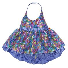 Purple Rainbow Sequin Dress | Build-A-Bear Workshop