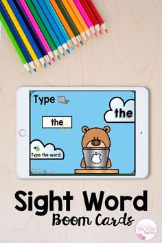 FREE Pre-Primer Sight Word Activities Boom Cards | Distance Learning
