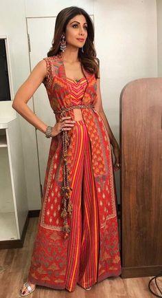 A Ritu Kumar outfit.