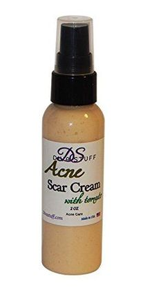Acne Scar Reducing Cream All Natural w TomatoCucumber  Fenugreek 2 oz By Diva Stuff >>> To view further for this item, visit the image link.