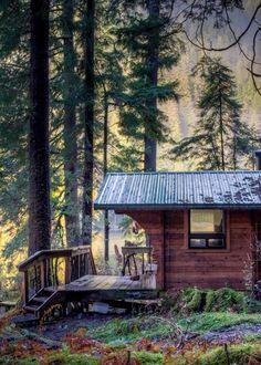 Forest Cabin Micoleys picks for #CabinGetaway www.Micoley.com